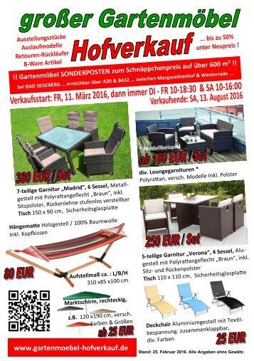 30 free magazines from gartenmoebelhofverkauf. Black Bedroom Furniture Sets. Home Design Ideas