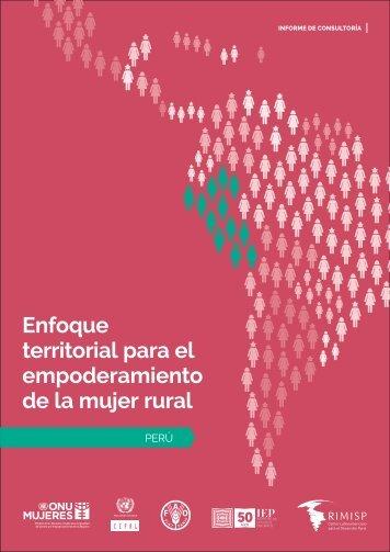 Enfoque territorial para el empoderamiento de la mujer rural