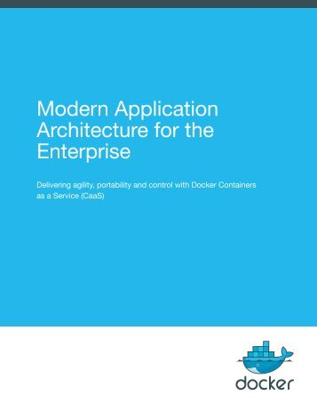 Modern Application Architecture for the Enterprise