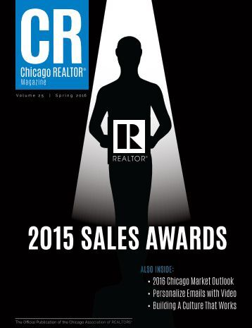 Spring 2016 CR Magazine - Sales Awards