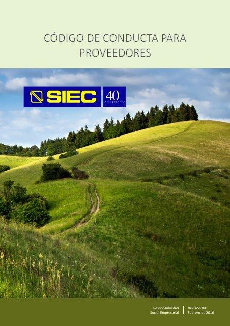 16-03-07 RSE - CÓDIGO DE CONDUCTA PARA PROVEEDORES