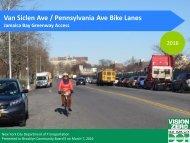 Van Siclen Ave / Pennsylvania Ave Bike Lanes