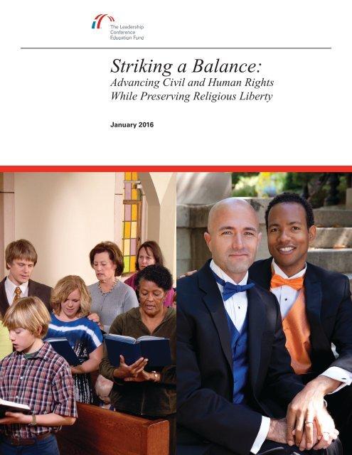 Striking a Balance