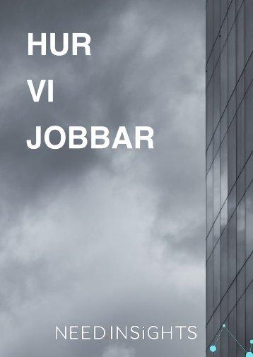 HUR VI JOBBAR