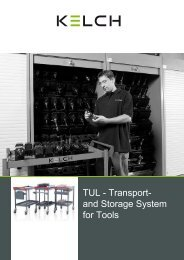 TUL - Transport- and Storage System for Tools - Midmarket Sales, Inc.