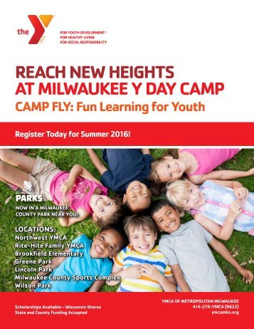 REACH NEW HEIGHTS AT MILWAUKEE Y DAY CAMP