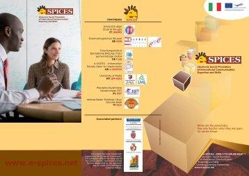 e-Spices flyer