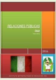 RELACIONES PUBLICAS-ITALIA