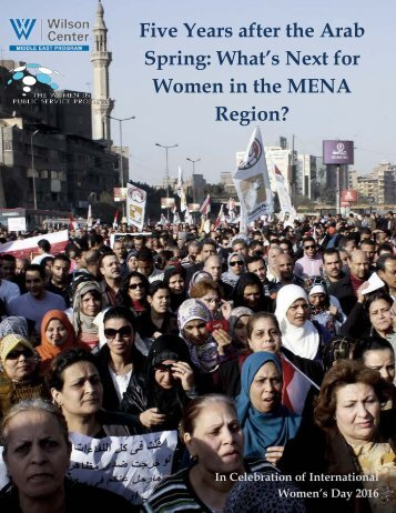 Five Years after the Arab Spring What's Next for Women in the MENA Region?