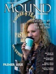 Mound Magazine - Spring 2016 Issue