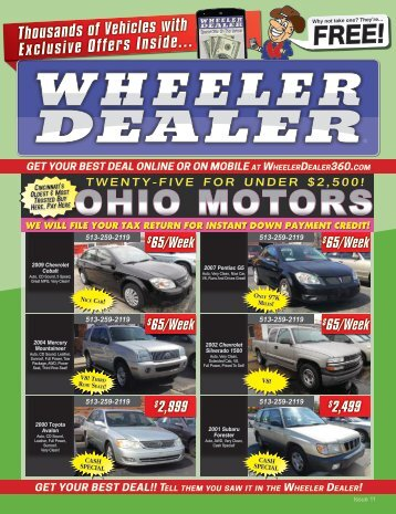 Wheeler Dealer Issue 11, 2016