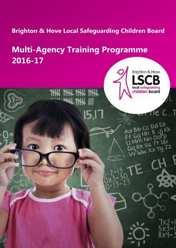 Multi-Agency Training Programme 2016-17