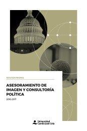 Master en Asesoramiento de imagen y consultoría política UCJC  2016-2017