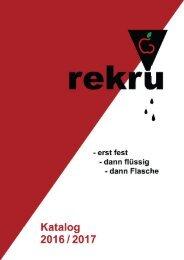 ReKru Katalog 2016/2017