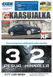 Kaasujalka Keski-Suomi 3/2016