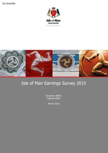 Isle of Man Earnings Survey 2015