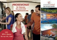 Probemonat_Patienten Gesundheitszentrum