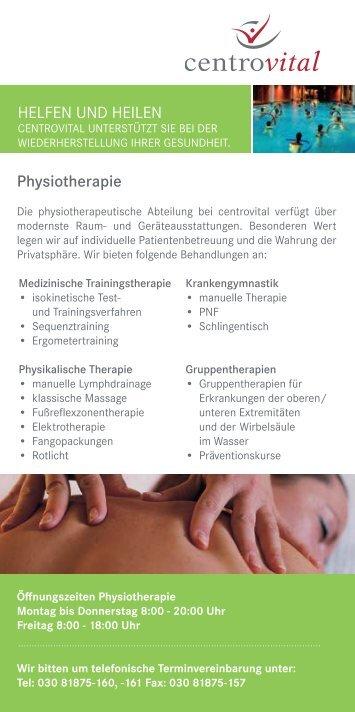 Ergo-u. Physiotherapie