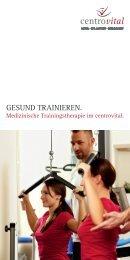 Gesund trainieren - MTT-Karten