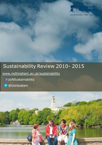 Sustainability Review 2010- 2015
