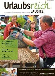 Ferienmagazin Urlaubsreich Lausitz, Ausgabe Frühjahr und Sommer 2016