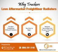 Why Truckers Love Aftermarket Freightliner Radiators