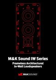 M&K Sound IW Series
