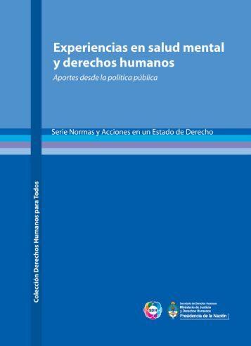 Experiencias en salud mental y derechos humanos