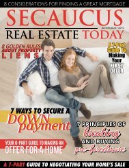 Secaucus Real Estate Today - July/August 2016