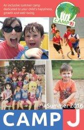 Camp J at the Rosen JCC: Summer 2016