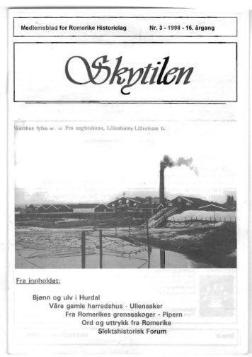 1998 Skytil nr. 3
