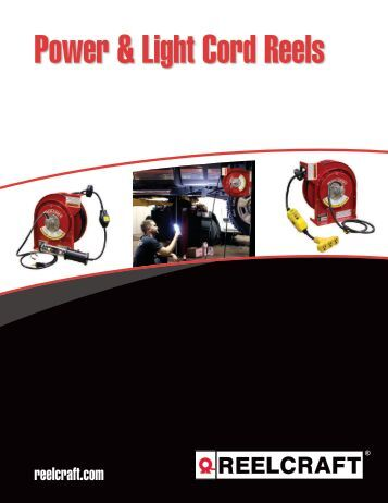 Power & Light Cord Reels