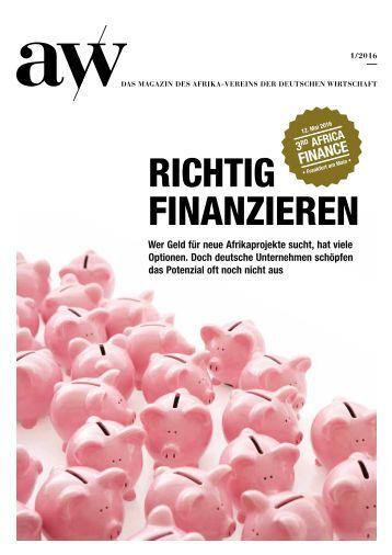 Thema: Finanzen.