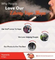 Why People Love Our Liberty Vape Shops