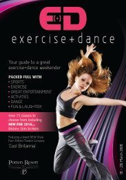 Exercise and Dance Programme - March 2016