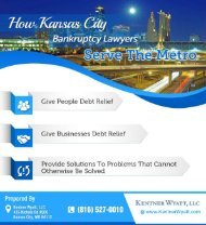 How Kansas City Bankruptcy Lawyers Serve The Metro
