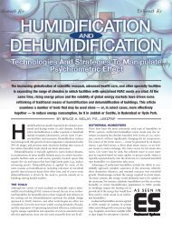 Humidification - Affiliated Engineers, Inc.