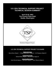 Technical Sessions - Environmental Management Support, Inc.