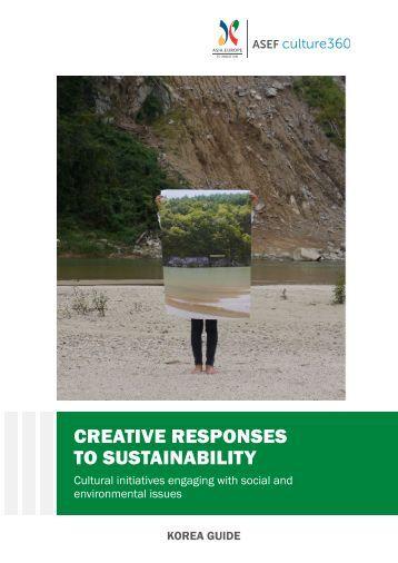 CREATIVE RESPONSES TO SUSTAINABILITY