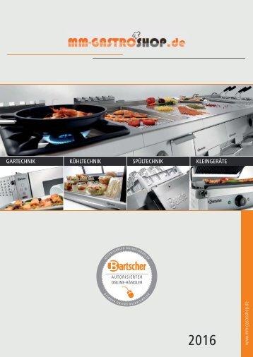 MM-Gastroshop Katalog 2016