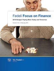 Fedeli Focus on Finance