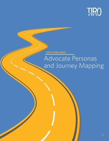Advocate Personas and Journey Mapping