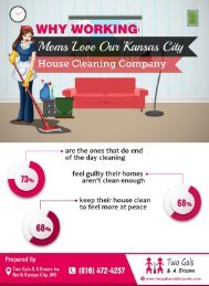 Why Working Moms Like Kansas City House Cleaning Companies