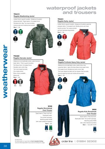 weatherwear - Culm Industrial Clothing