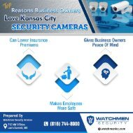 Top Reasons Businesses Love Kansas City Security Cameras