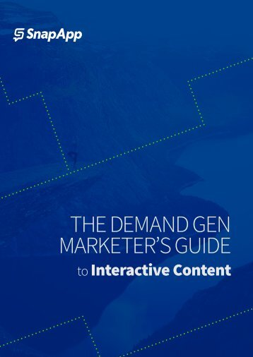 THE DEMAND GEN MARKETER'S GUIDE