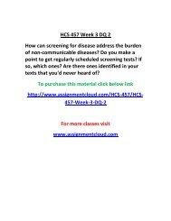 UOP HCS 457 Week 3 DQ 2