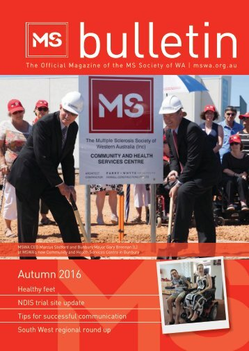 MSWA Bulletin Magazine Autumn 16