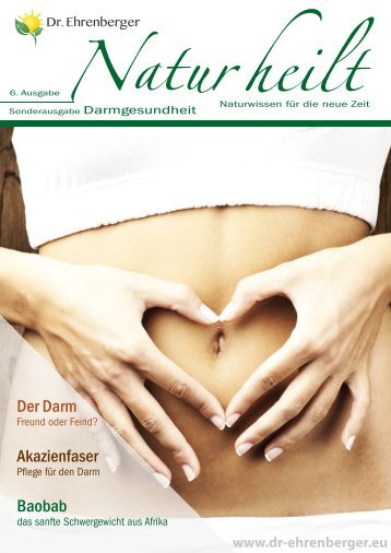 Zeitschrift Natur heilt 6 - Darmgesundheit