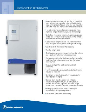 Isotemp Freezer Manual